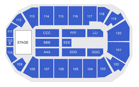 Seating Charts 1stbank Center